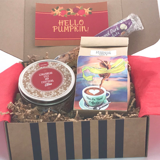 pumpkin spice coffee box
