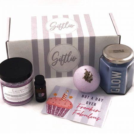 lavender birthday gift