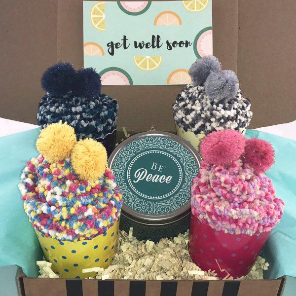 get well boho gift box