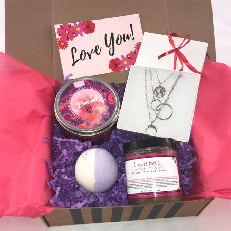 love you boho gift box