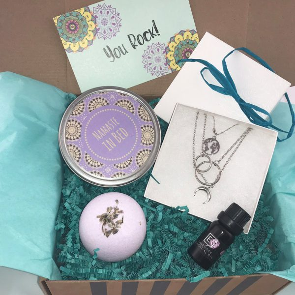 boho gift box for stress relief