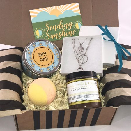 sunshine boho gift box