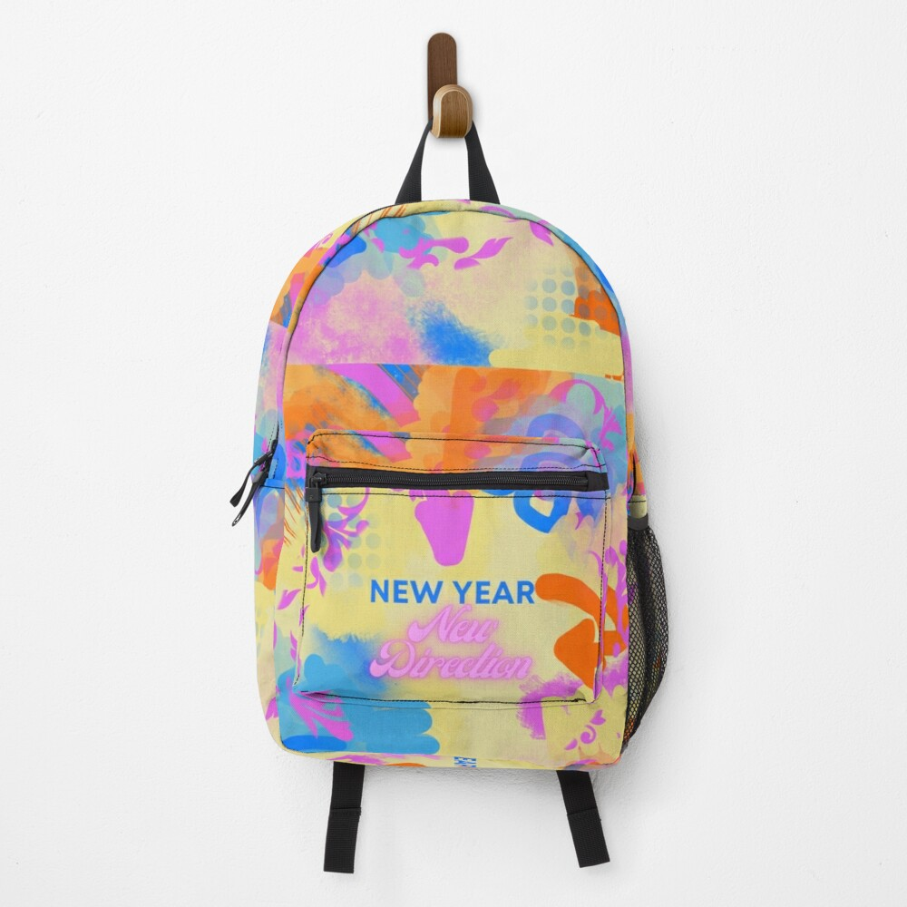 New Year's inspiration backpack