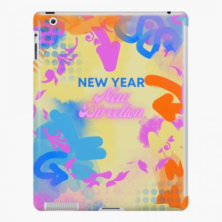 new year's ipad snap case