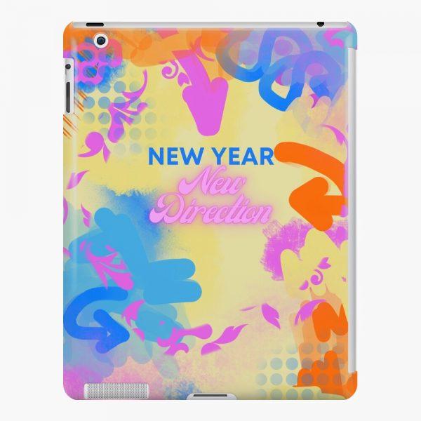 new year's ipad snap case