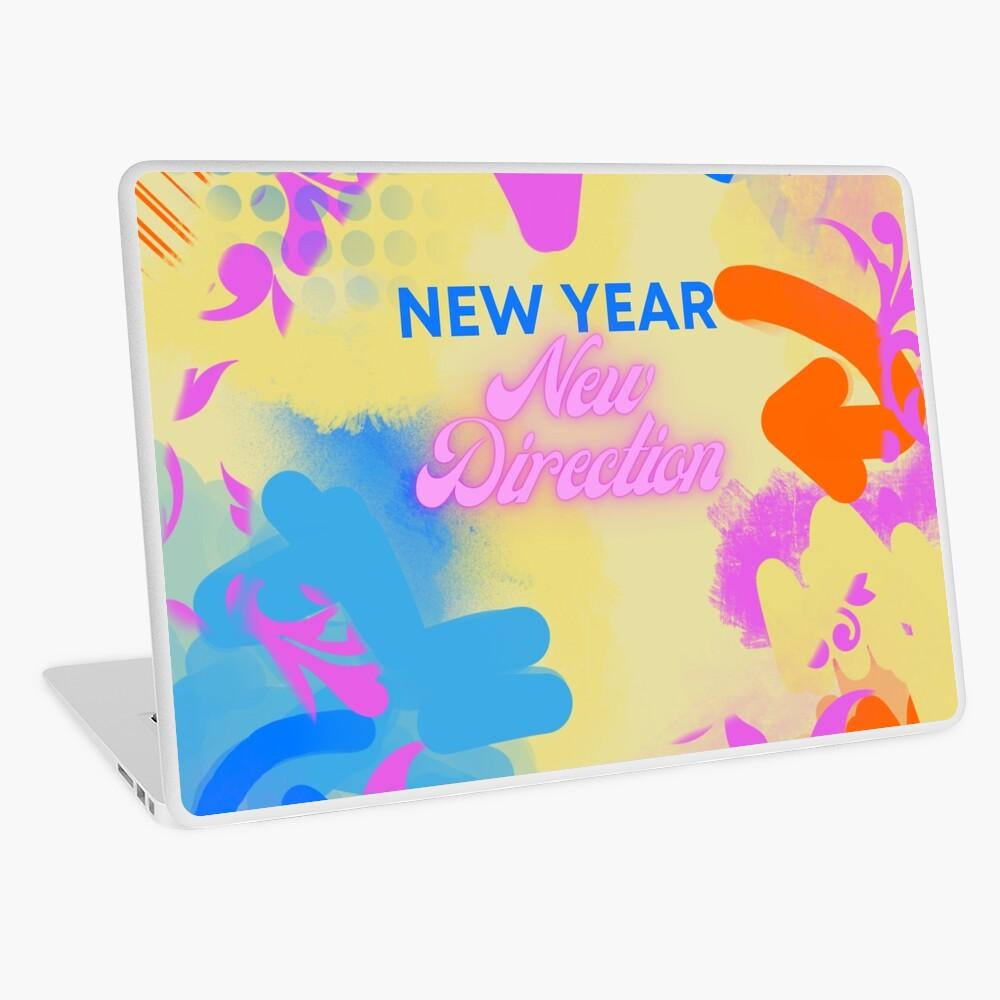 New Year's Laptop skin
