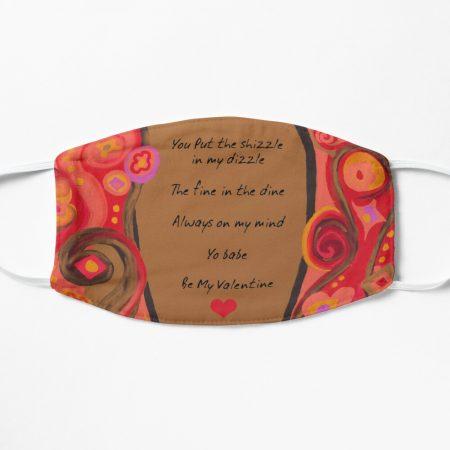 Valentine Poem Mask