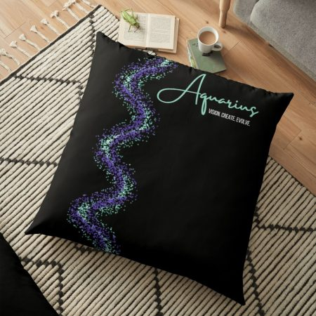 Aquarius Meditation Pillow