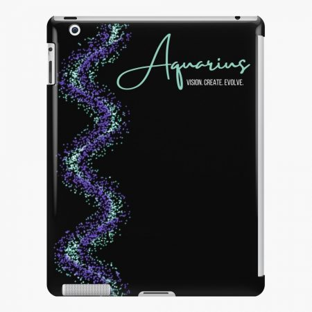 Aquarius Ipad Snap Case